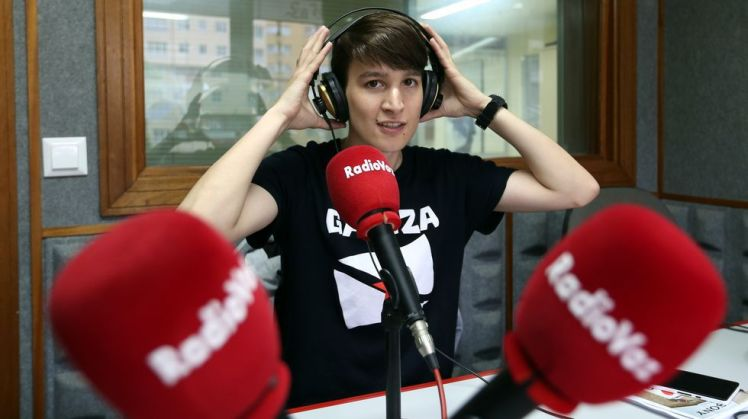 Carmela Queijeiro. Entrevista Radio Voz. La Voz de Galicia